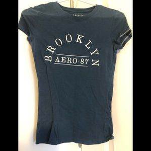 Navy Aeropostale Like New Top